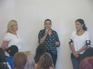 Palestra contra violência doméstica