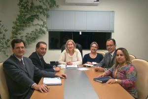 Reunião com o superintendente do Banco do Brasil